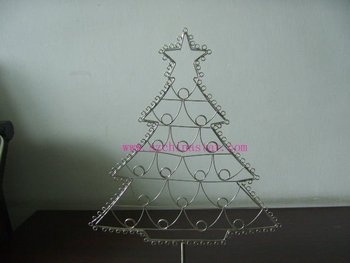 Beautigul Christmas Tree Shape Metal Wire Craft Buy