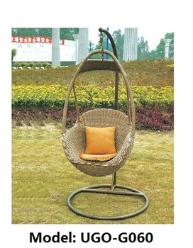 Wicker Hanging Egg Chair Outdoor Furniture Swing Seat Patio Set