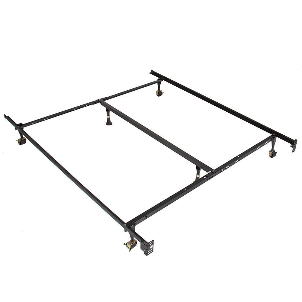 76 long for twin full size beds steel bed side rails metal bed frame with hook on claws buy stainless steel railing queen size metal bed