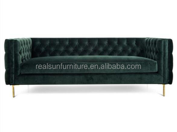 classic design velvet chaise lounge sofa home furniture gold metal chesterfield couch buy couch chesterfield sofa velvet sofa product on alibaba com