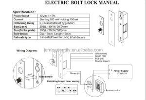 Fail Safe Lock Electric Drop Bolt Door Lock With Lowest Power Consumption Jm500lts  Buy