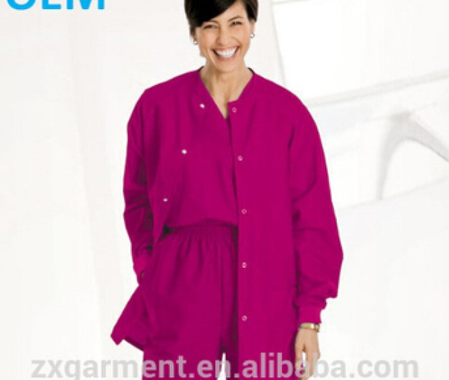 Oem Button Front Dickies Style Womens Short Sleeve Medical Scrubs China Sexy Nurse Scrub Cherokee