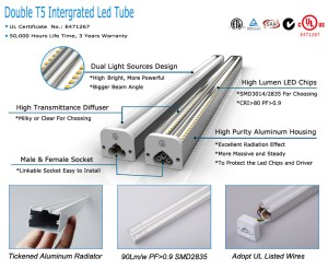 Oem Odm American Led Tube Light Circuit Diagram T5 15w 30w