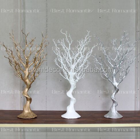 Gold Plastic Tree Centerpiece For DecorationBeautiful