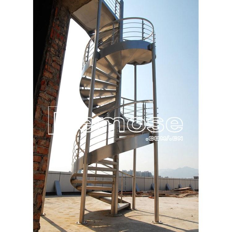 Exterior Metal Stairs Metal Spiral Stairs Buy Exterior Metal | Exterior Metal Spiral Staircase | Rustic Metal | Deck | Crystal Handrail | Bar Modern | Railing