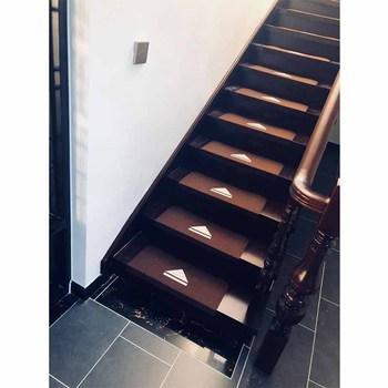 Felt Material Self Adhesive Non Slip Stair Treads Rug Buy Felt   Non Slip Stair Rugs   Bullnose Carpet   Carpet Rug   Mat   Stair Runners   Tread Covers
