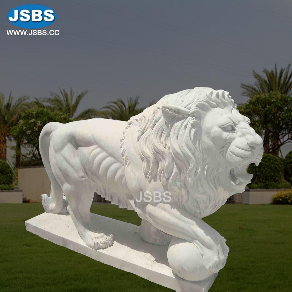 statuette de grand lion en resine sculpte decoration de jardin d exterieur bon marche buy grandes statues de lion statues de lion de jardin statues