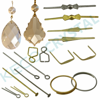 Accessories For Chandeliers And Hooks Chandelier Crystals Keco Crystal Can Supply