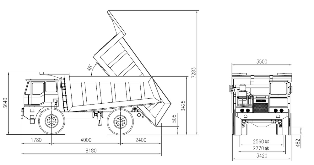 rv trailer turning radius diagram