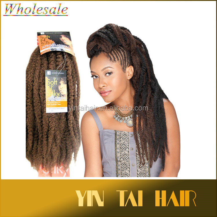 Premium Quality Soft N Silky Afro Kinky Twist Braid Twists