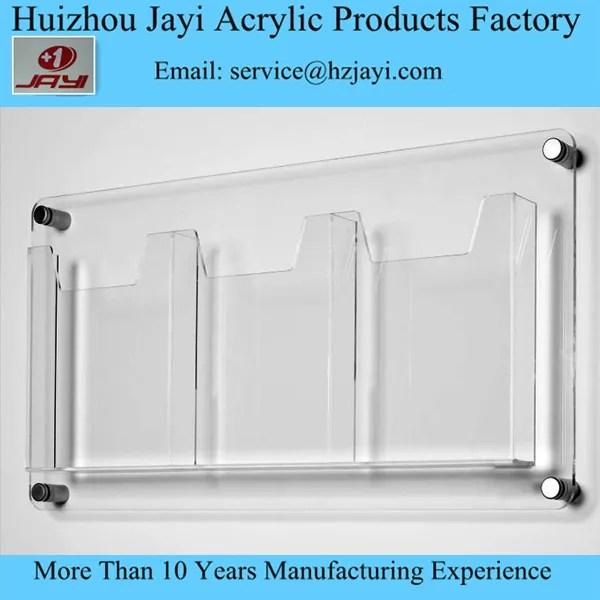 porte documents a4 en plastique transparent porte documents personnalise de haute qualite a fixation murale buy porte documents