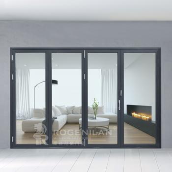 interior folding doors with glass