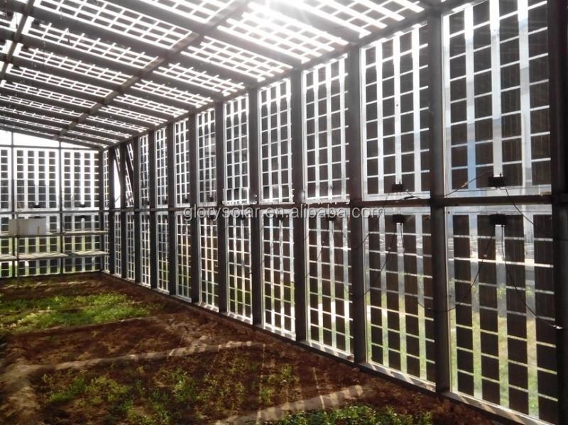 Factory Customized Solar Panel Transparent Solar Panel