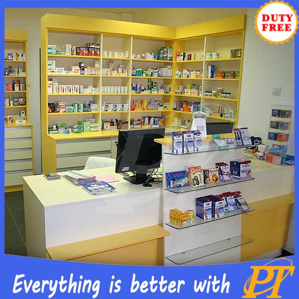 Pharmacy Shop Design Pharmacy Display Counter Showcase