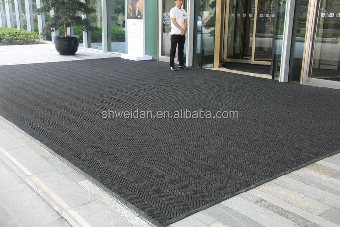 tapis de sol d exterieur en caoutchouc polypropylene haute qualite absorption d eau noir buy tapis de sol d exterieur tapis en polypropylene tapis