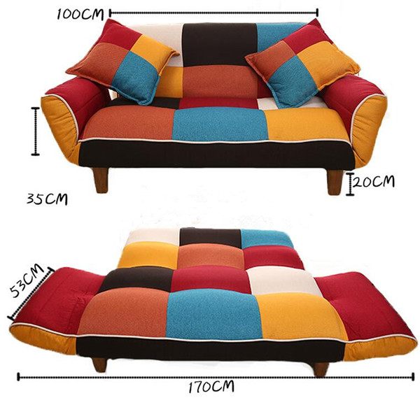 SF11 (8)  Adjustable Couch and Loveseat in Colourful Line Material Dwelling Furnishings Fold Down Couch Sofa Best for Dwelling Room, Bed room, Dorm HTB1gPurgY I8KJjy1Xaq6zsxpXaW