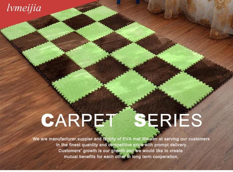 tapis puzzle shaggy en mousse pour bebe epais et non toxique puzzle eva pour enfants buy enfant jouer tapis eva tapis de jeu bebe pas cher tapis de