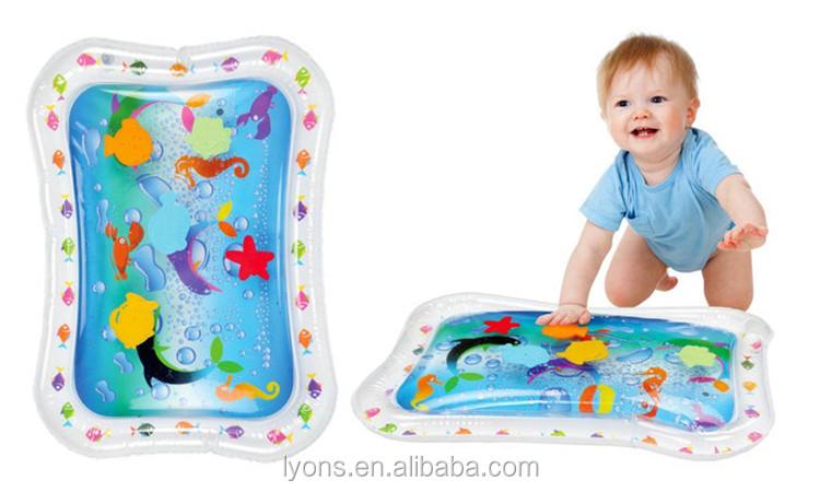 tapis d eau gonflable pour bebe enfants
