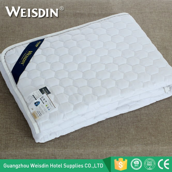 Manufacturers Customized King Size Microfiber Hotel Mattress Protector Cover