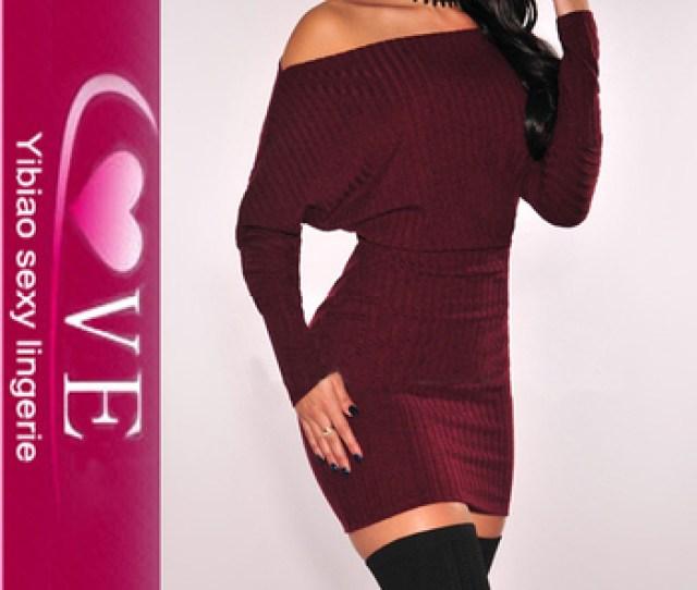 New Design Girls Sweater Off Shoulder Sexy Bodycon Sweater Dress Buy Sweater Dresssexy Sweater Dressnew Design Girls Sweater Product On Alibaba Com