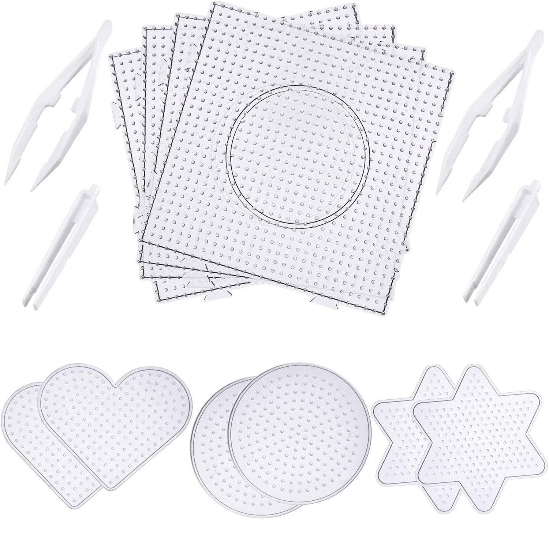 Buy Maxdot 10 Pieces Beads Tweezers Plastic Craft Tweezers