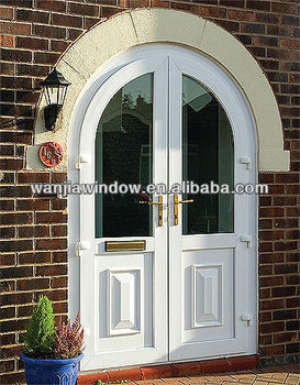 Foshan Factory Wholesale Arched French Doors Interior