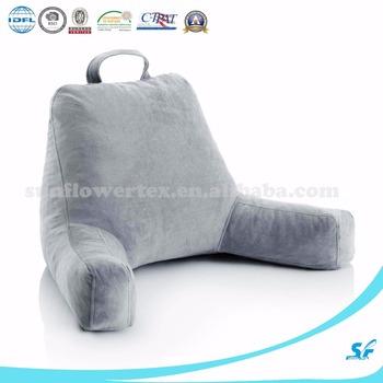 dossier oreiller tv oreiller dechiquete memoire mousse calin oreiller lit reste oreiller avec bras