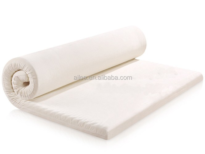 Portable Travel Memory Foam Mattress Topper With Bag Ng