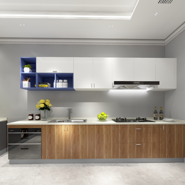 Ethiopia Small Cheap Kitchen Cabinet Design Modern I Shape Kitchen Wall Cupboards View Wall Mounted Kitchen Cupboards Fenghe Product Details From Foshan City Fenghe Office Equipments Factory On Alibaba Com
