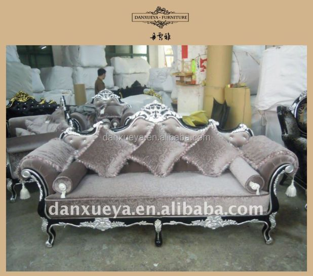 New Style Silver Sofas For Home Room Living