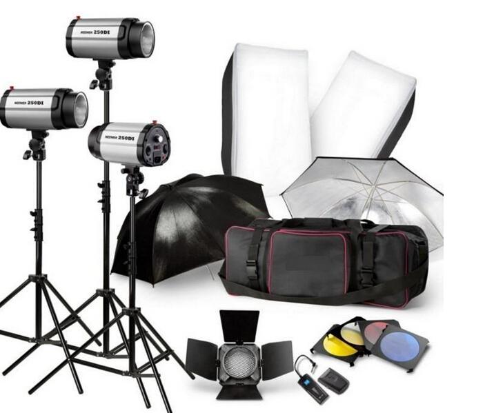 3 250w complete photography studio lighting kits for professional studio from lovefoto buy lighting studio kits high quality photography studio