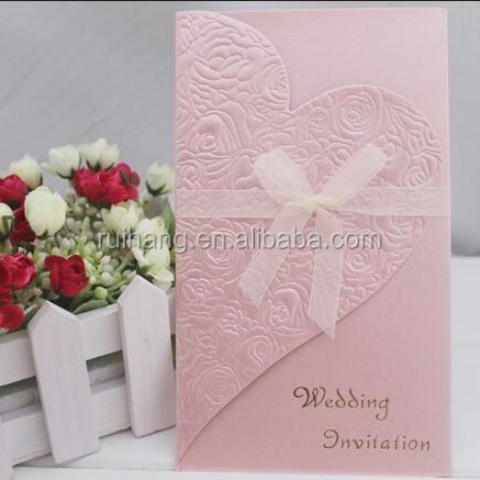 handmade simple wedding card