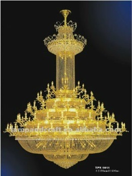 Chinese Or Asfour Crystal Chandeliers