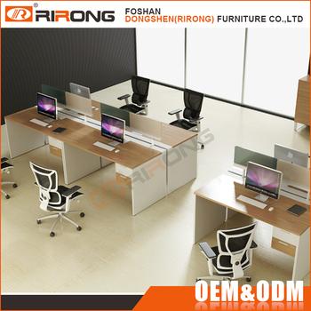 moderne standard tailles de bureau meubles center d appel 4 personne bureau poste de travail