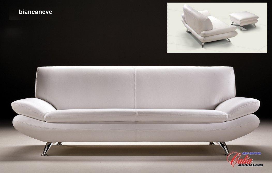 Sofa Italian Leather Gabriel Taupe Italian Leather Modern