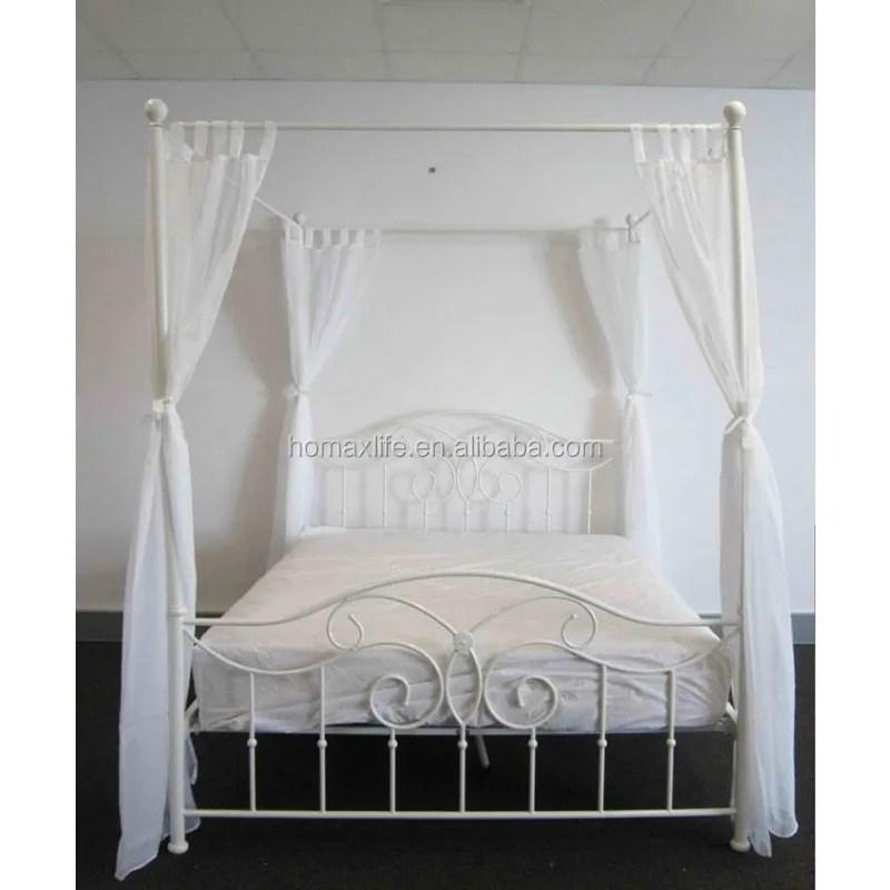 modern design european luxury king metal bedroom four poster bed canopy for sale buy european luxury king canopy metal bed luxury bed canopy king