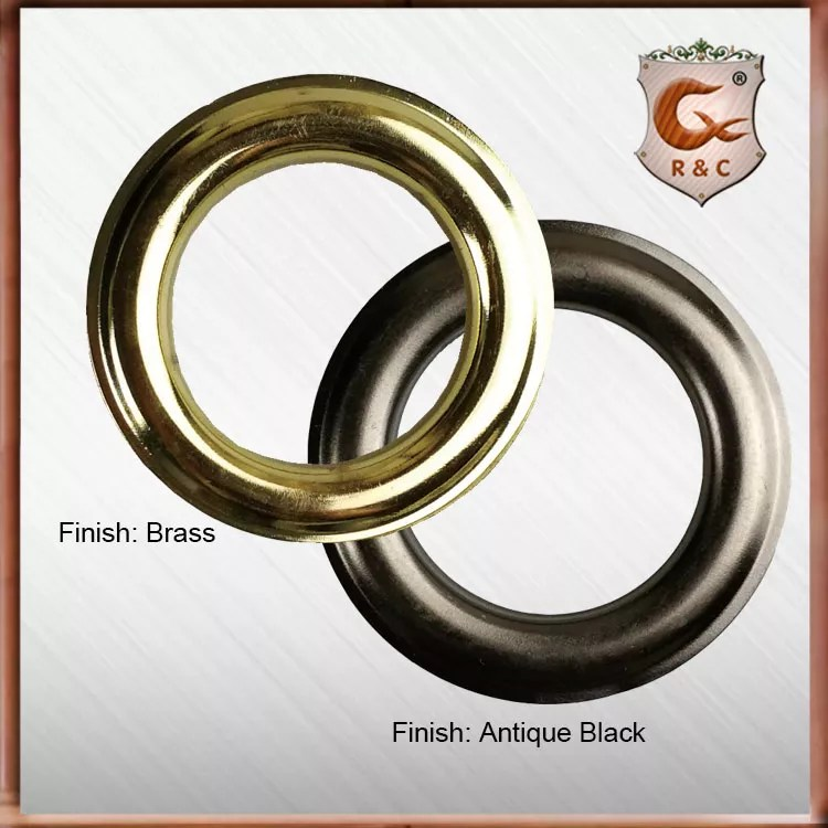 brass round metal curtain eyelet curtain grommets curtain ring buy antique brass black stainless steel curtain grommet for curtain rod antique