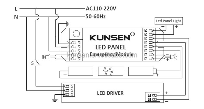 emergency light wiring diagram wiring diagram emergency light wiring diagram electronic circuit