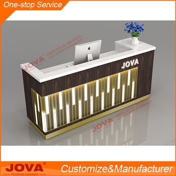 en bois bureau de caisse pour magasin de detail meubles de reception