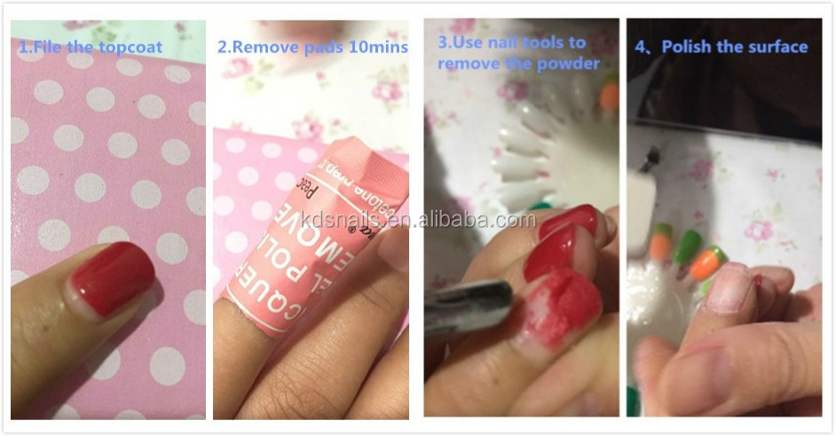 Kds Acrylic Resin Nail Powder For Dipping Gel Dip