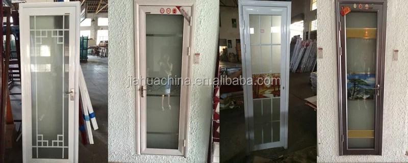 porte interieure en aluminium modele de la salle de bain porte en verre buy modele de la porte de salle de bain en aluminium portes interieures en