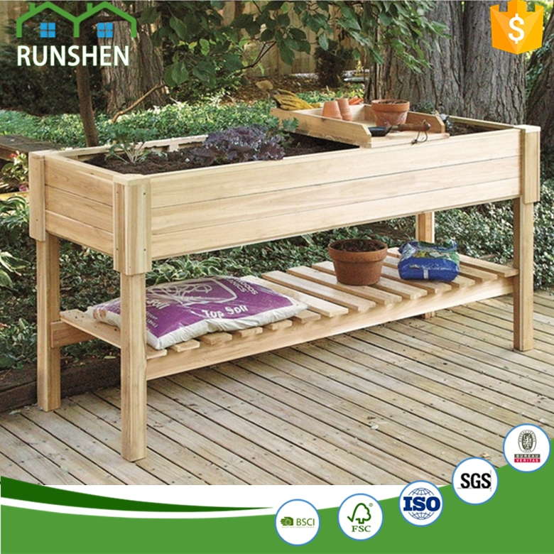 Raised Planter Boxes Wooden Plant Pots Cedar Planters Buy Tall Planters Garden Planter Boxes Large Wooden Planters Product On Alibaba Com