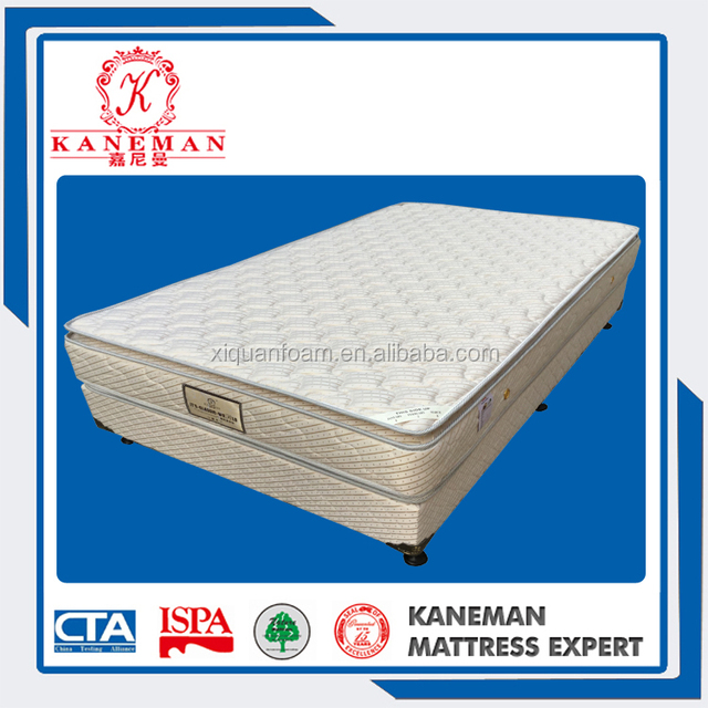 High Quality Spring Bed Base And Mattress For Hotel