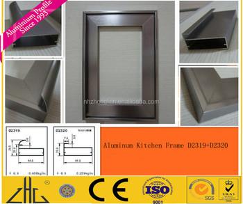 profil en aluminium pour cadre d armoire de cuisine extrusion d aluminium pieces