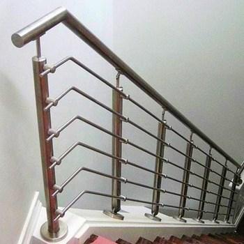 Modern Cheap Stair Railing Design With Rod Bar Railing Stainless   Industrial Stair Railing Design   Structural Steel Modern   Detail Industrial   Horizontal   Custom Metal   Ancient