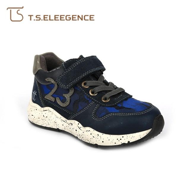 Hot sales women fashion blue black kids sneaker sport shoes