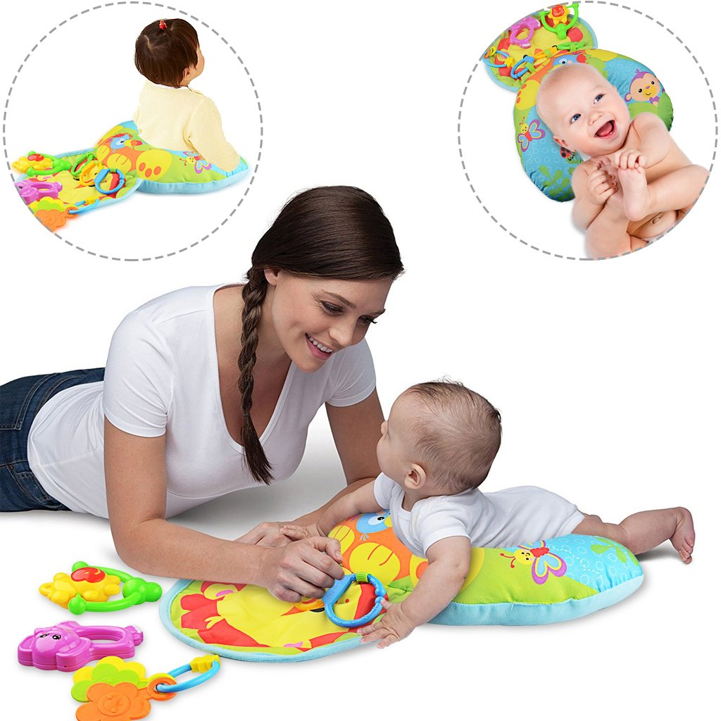 me inflatable baby tummy time