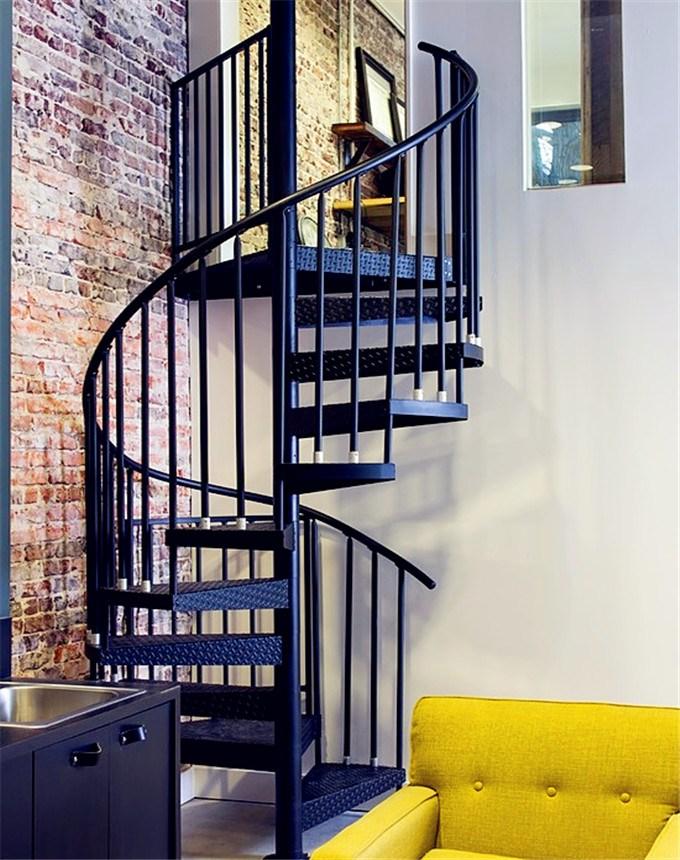 Prefabricated Decorative Painting Cast Iron Spiral Staircase Metal   Painting Metal Spiral Staircase   Stair Case   Staircase Kit   Stair Railing   Powder Coating   Spray Paint