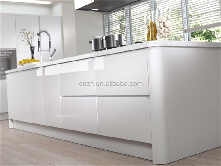 Kitchen Cabinet Modern Designs Black Lacquer