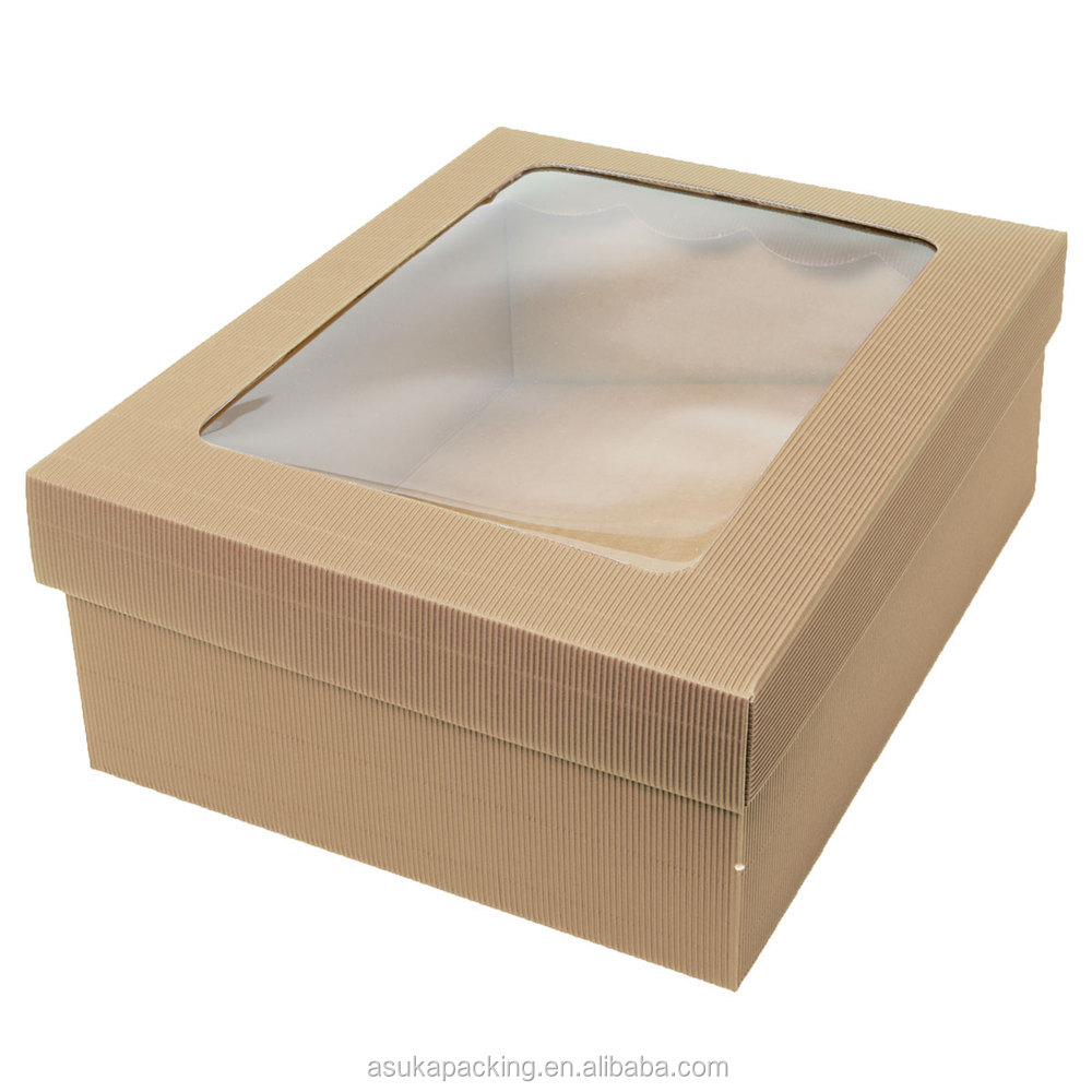 Packaging BoxesPackaging Jewelry Gift Box With Clear Lid